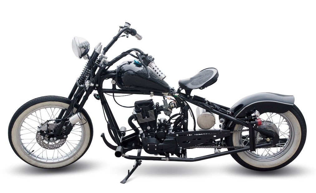 bobber one mit 125 ccm mit stra enzulassung vorf hrer. Black Bedroom Furniture Sets. Home Design Ideas